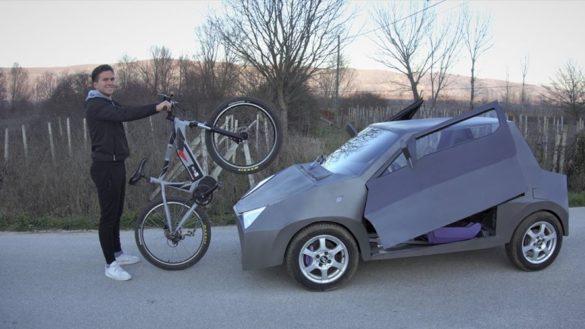 novi električni bicikl povezivanje sa servoerom za pametno razgledavanje i vožnju marijo ljubičić inovator kreativac biciklisti