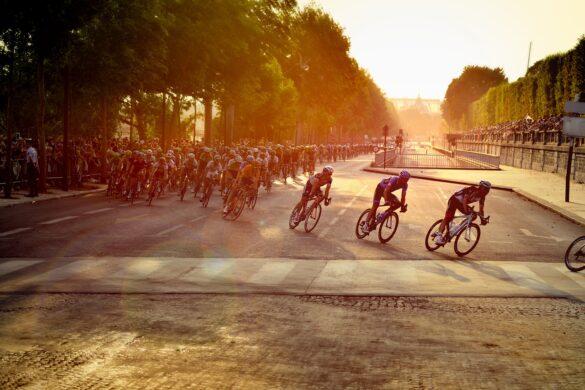biciklisti bicikliranje staza natjecanje biciklista biciklizam utrka