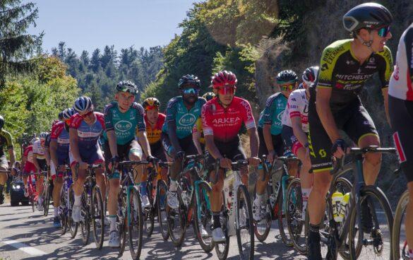 utrka tour de france natjecanje biciklisti slovenski dvojac vodeci natjecanje biciklizam