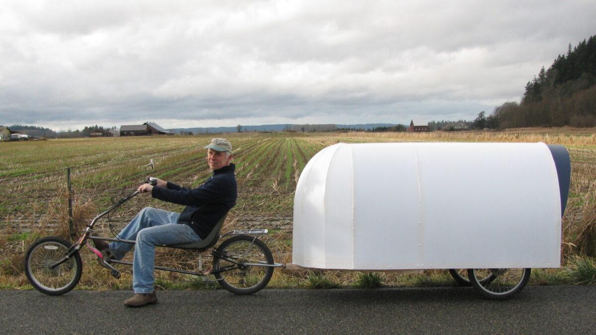 Mini kamperica za bicikl: Kako za manje od 1.000 kuna izgraditi kamp kućicu za bicikl?!